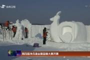 第四届净月潭全国雪雕大赛开赛