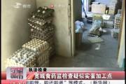 【独家视频】宽城食药监检查疑似实蛋加工点