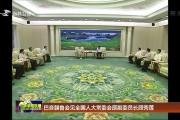 巴音朝鲁会见全国人大常委会原副委员长顾秀莲