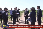 省领导赴长岭现场督办环保重点案件实地检查河长制落实情况