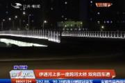 【独家视频】伊通河上多一座跨河大桥 双向四车道