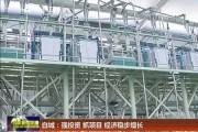 白城:强投资 抓项目 经济稳步增长