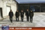 【最美基层干部】李华靓:创业村官带领全村人致富