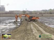 【保护环境 立行立改】东辽河河道清淤工程进入收尾阶段