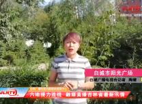 吉林省最新汛情丨吉林融媒连线白城广播电视台记者陶媛