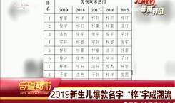 """守望都市 2019新生儿爆款名字 """"梓""""字成潮流"""