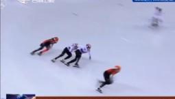 吉林省运动员武大靖获得平昌冬奥会短道速滑男子500米金牌