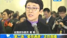 【委员通道】黄艳:要强化规划的战略引领作用