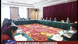 吉林代表团分组审查计划和预算报告