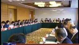 住吉全国政协委员讨论宪法修正案草案