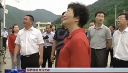 【保护环境 立行立改】 王晓萍调研河长制实施和中央环保督察反馈意见整改情况