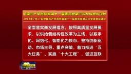 中国共产党吉林省第十一届委员会第三次全体会议决议
