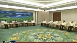 巴音朝鲁 江泽林会见全国政协副主席 台盟中央主席苏辉