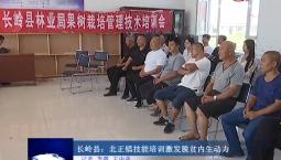吉林报道 长岭县北正镇技能培训激发脱贫内生动力