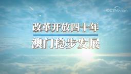 """[视频]伟大的变革——庆祝改革开放40周年大型展览之""""改革开放四十年,澳门稳步发展"""""""