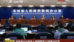 吉林省出台老年人照顾服务32项重点任务