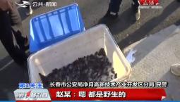 第1报道|长春净月公安分局成功破获赵某非法狩猎案