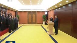 [视频]习近平会见澳门特别行政区新任行政、立法、司法机关负责人