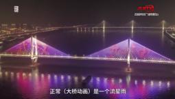 """独守大桥30天,他每晚点亮""""武汉加油"""""""