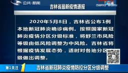 第1报道|吉林省新冠肺炎疫情防控分区分级调整