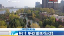新闻早报|梅河口市:将环境综合整治纳入常态化管理