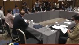 住吉全国政协委员认真讨论政协两个报告
