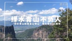 """""""四力""""Vlog 綠水青山不負人"""