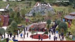 第四届中国绿化博览会今天开幕 吉林园迎来首批游人