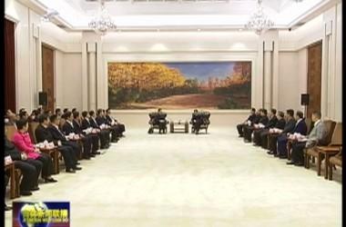 浙江省宁波市代表团来我省考察 巴音朝鲁会见代表团一行