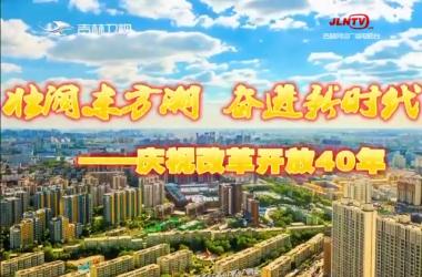 【壮阔东方潮 奋进新时代——庆祝改革开放40年】白山松水的绿色答卷