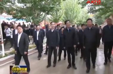 我省举办2020中国农民丰收节系列活动 巴音朝鲁 景俊海分别在白城和四平与农民朋友共庆丰收节