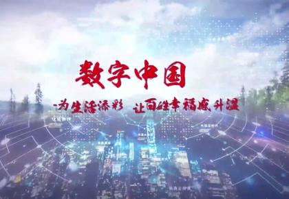 数字中国:为生活添彩,让百姓幸福感升温