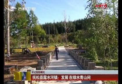 【牢记殷殷嘱托】抚松县露水河镇:发展 在绿水青山间