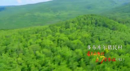 看美丽乡村 庆70华诞丨内蒙古自治区呼伦贝尔市鄂伦春自治旗大杨树镇多布库尔猎民村