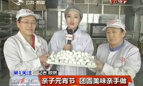 亲子元宵节 团圆美味亲手做
