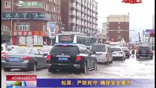 乡村四季12316_松原:严防死守 确保安全度汛