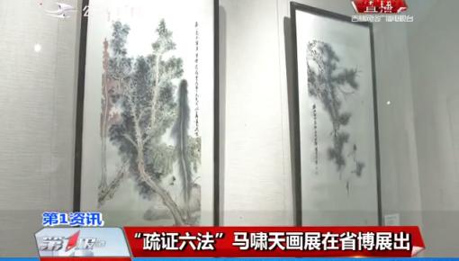"""""""疏证六法""""马啸天画展在省博物院展出"""