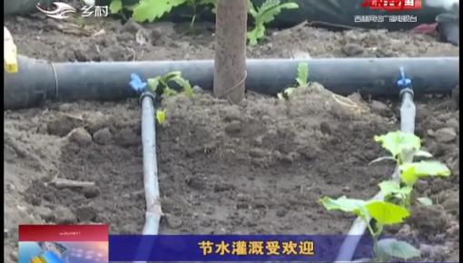 乡村四季12316|节水灌溉受欢迎