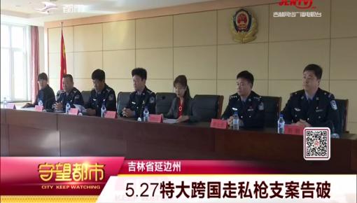吉林省延边州 5.27特大跨国走私枪支案告破