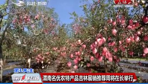 渭南名优农特产品吉林展销推荐周将在长举行