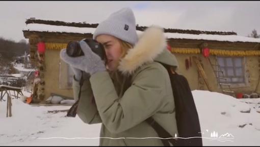 微视频 |  冰雪里释放激情 欢乐滑雪过新年