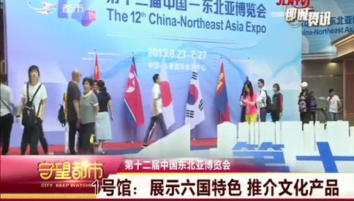 守望都市|第十二届中国东北亚博览会开幕