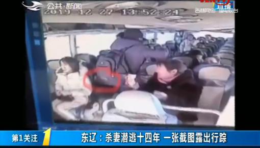 第1报道|东辽:杀妻潜逃十四年 一张截图露出行踪