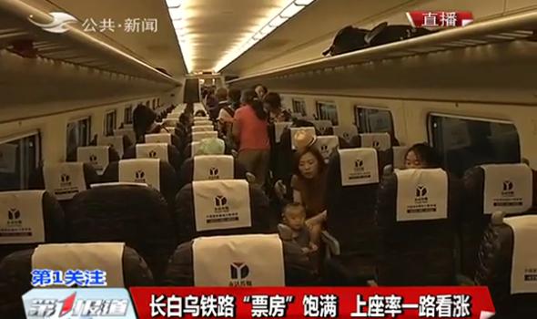 """【独家视频】长白乌铁路 """"票房"""" 饱满 上座率一路看涨"""