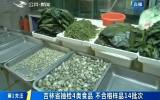 第1报道|吉林省抽检4类食品 不合格样品14批次