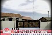 四平:男子盗窃邻居物品 触犯刑法被拘留