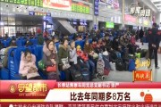 春节假期长春站发送旅客64.3万人