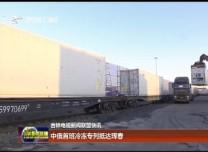 中俄首班冷冻专列抵达珲春