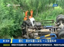 第1報道|圖們:灑水車翻入深坑 一人受困車中