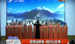第1报道|歌舞迎新春 相约社区情